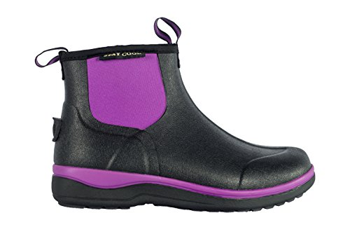 Noble Outfitters MUDS STAY COOL WOMEN'S 6 blackberry, Gummistiefel Oliv / Grün