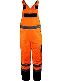 Outdoor- & Arbeitsbekleidung Warnschutz-Latzhose [M-3XL]