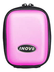 Inov8 5103 Universal Camera Case To Fit Canon Ixus 80,Ixus 85, Ixus 95, Ixus 100, Sony Cybershot W180, W210,W220, W270 and Panasonic FS15, FZ38, Samsung ES15, ES55 and Fuji J30 - Pink