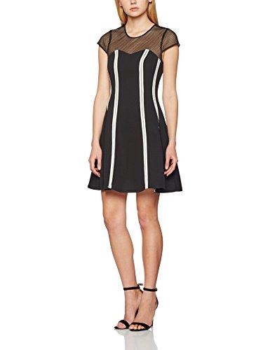 Morgan, Vestito Donna Multicolore (Noir/Blanc)