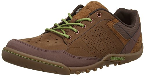 merrell-sector-umber-mens-lace-up-trainer-shoes-brown-clay-8-uk