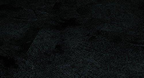 PARADOR Trendtime 4 - Laminatfußbodenbelag Klick Laminat - Painted black - Großformat-Fliese - Steindekor - für einen designorientierten Einrichtungsstil mit Mini-V-Fuge 1601144 - Paket a 2,57m²