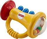 #4: Fisher Price Trumpet Rattle, Multi Color