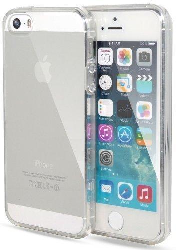 itronik Hülle kompatibel mit iPhone 5 5S 5SE TPU Hülle Schutzhülle Crystal Case Durchsichtig Klar Silikon transparent