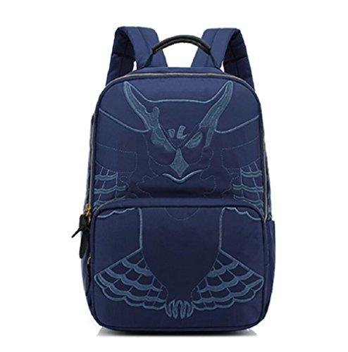 Z&N Backpack Borsa a tracolla multifunzionale borsa a tracolla zaino da viaggio all'aperto borsa per il tempo libero creativo borsa per alpinismo sportivo bici da viaggio zaino da campeggioblack18L blue