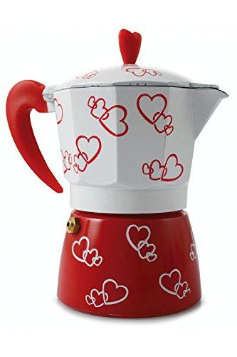 Galileo 2160107 Cafetera con diseño Corazón