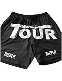 Purpose Stadium Tour - BLACK shorts Bieber Summer