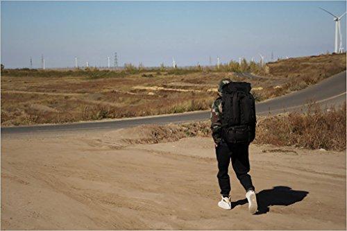zaino trekking Outdoor Backpacking alpinismo sacchetto di campeggio Uomini E Donne Zaino impermeabile borsa da viaggio 80L Zaini da escursionismo ( Colore : Marrone ) Nero