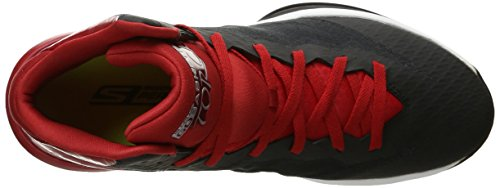 Skechers Leistung Go-Fackel-Basketball-Schuh Black/Red