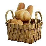 RONGXIN Aufbewahrungskorb Für Die Küche, Tragbarer Aufbewahrungskorb, Aufbewahrungskorb Aus Holz, Aufbewahrungskorb, Küche, Obst- Und Gemüsekorb