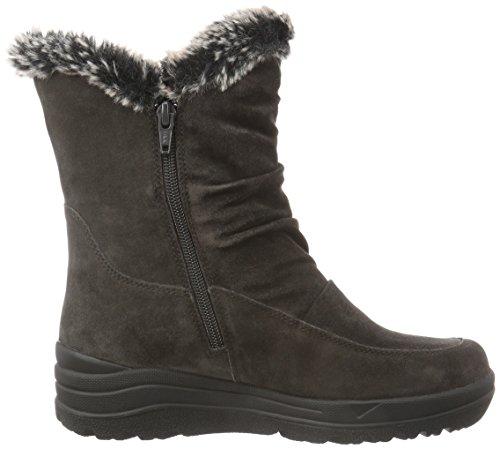 Gabor Shoes Comfort Basic, Stivaletti Donna Grigio (Dark-Grey Webl.)