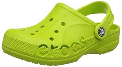 crocs Kids Unisex Baya Vibrant Violet Clogs and Mules