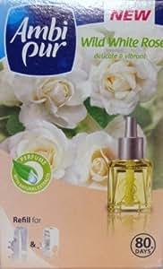 Ambi Pur Plug-in Refill Wild White Rose 20ml