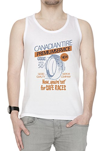 canadian-tire-white-cotton-mens-tank-t-shirt-tee-crew-neck