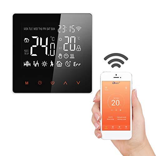 Wifi Thermostat Raumthermostat digitaler Wandthermostat programmierbar Raumtemperaturregler für Fussbodenheizung Thermostat für elektrische Heizung Wandheizung mit großer LCD-Bildschirm 230V 16A