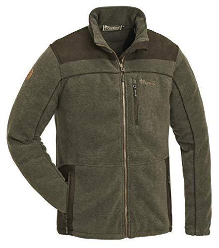 Pinewood PRESTWICK EXKLUSIV Fleece Jacke Winter Jagd Angeln Freizeit Outdoor Fleece Jacke, Grün, L