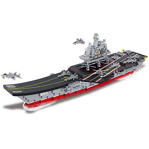 XuBa B0399 - Juego de Modelos, 1059 Piezas, Compatible con Lego, Lego, Lego, Lego, Hobbies, Liaoning Militar