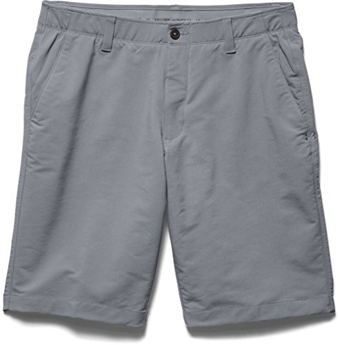 Under Armour Golf Shorts (Under Armour Herren Golf Hose UA Match Play Shorts, Phantom Gray, 32, 1253487)