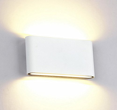 glighone applique da parete impermeabile led 12w lampada a muro ... - Applique Per Camera Da Letto