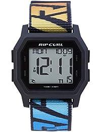 RIP CURL Mens Atom Webbing Strap Digital Watch Faded Blue A3087