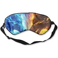 Ice And Fire Wolf Sleep Eyes Masks - Comfortable Sleeping Mask Eye Cover For Travelling Night Noon Nap Mediation... preisvergleich bei billige-tabletten.eu