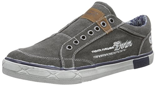 Tom Tailor Tom Tailor Herrenschuhe, Mocassins homme Gris - Grau (coal)