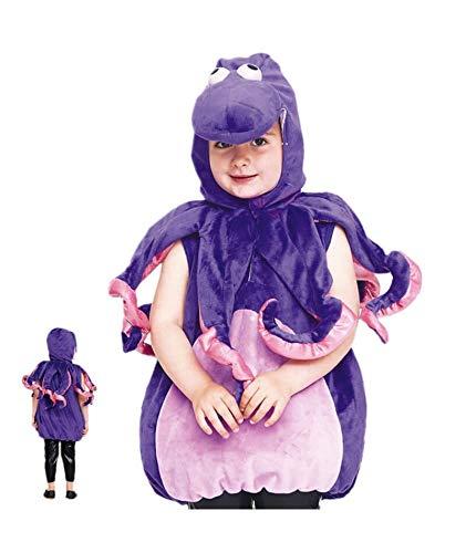 MultishopVA Kostüm Krake Baby - Tiere Karneval (3-4 Jahre) (Krake Baby Kostüm)