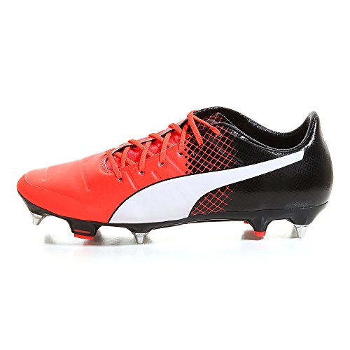 Puma Evopower 1.3 Mx Sg, Chaussures de Football Compétition Homme red blast-puma white-puma black