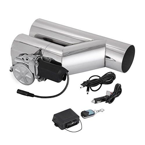 Oldriver 76mm Tubo Di Scarico Elettrico Exhaust Catback Elettrico Scarico Exhaust Downpipe Catback E-Cut Out Telecomando Sistema HQ