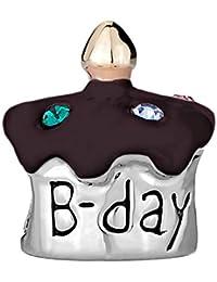 korliya feliz tarta de cumpleaños cuenta para pulsera para pulsera