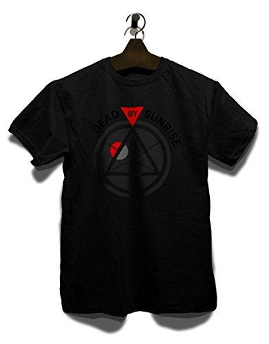shirtminister Anonymous Herren T-Shirt - Schwarz L