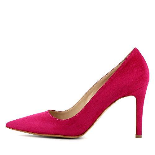 NATALIA Damen Pumps Rauleder Pink