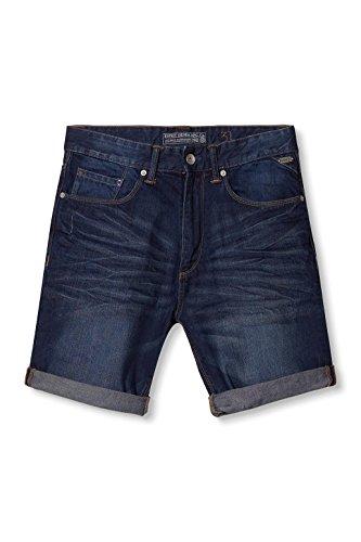 ESPRIT Herren Shorts 996ee2c901 - 5 Pocket Blau (BLUE DARK WASH 901)