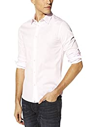 Celio - Chemise casual - Taille normale - Manches longues - Homme