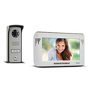 Extel - Visiophone 2 fil Mika - Ecran couleur 7 pouces / 18 cm