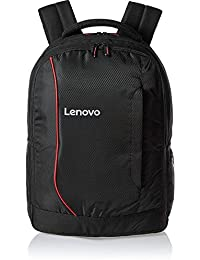 Lenovo Laptop Bag 15.6 inch Backpack Black Red for HP Dell Laptops