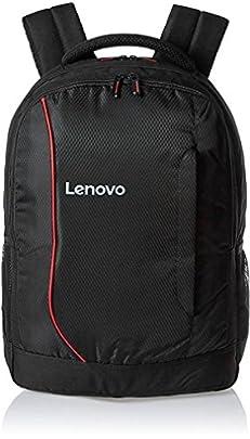 Lenovo Laptop Bag 15.6 inch Backpack Black Red for HP Dell Laptops