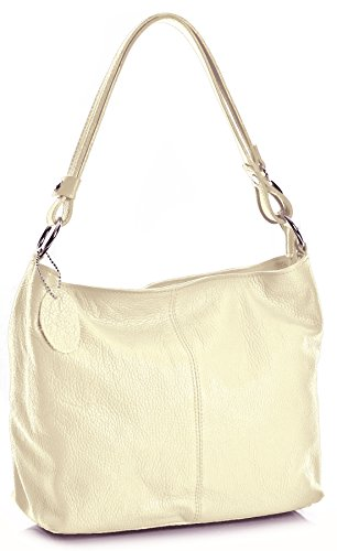 Big Handbag Shop, Borsa a spalla donna One Beige (beige)