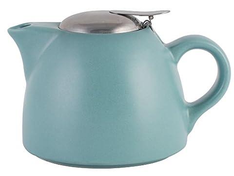 La Cafetiere Barcelona Teapot with Infuser, 450 ml - Retro Blue