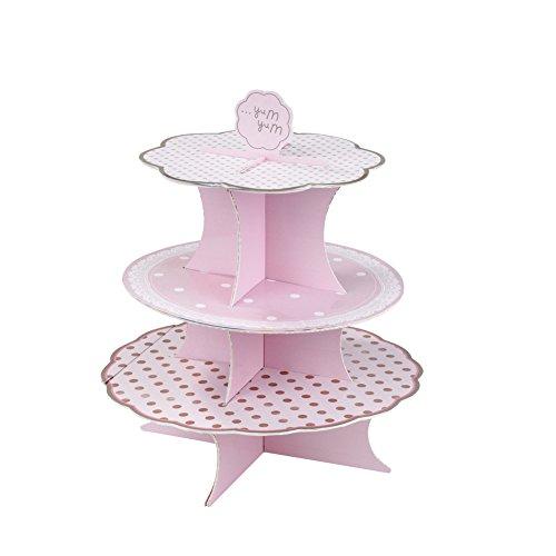 Talking Tables Pink N Mix-Kuchenständer für eine Tea Party oder EIN Geburtstag, Pink
