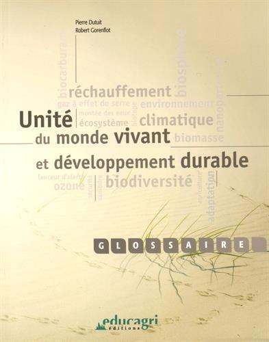 Unit du monde vivant et dveloppement durable