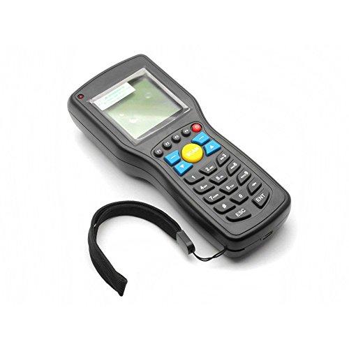 SeeSii T5 Standard Wireless Barcode Scanner Reader Entfernung bis zu 150 M Sammler Datenspeicherung mit einem Geschenk (T5)