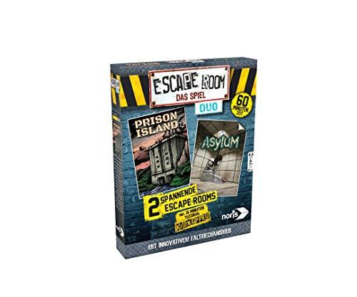 Noris 606101838 Escape Room Duo mit neuartigen Falt-Mechanismus, ab 16 Jahren (eigenständig spielbar)