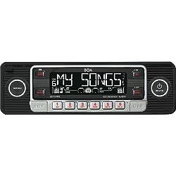 KDX Audio Retro 600 - Radio para coche (USB, CD, SD) color negro
