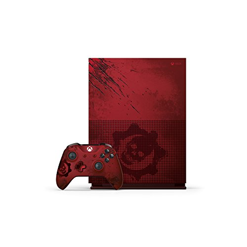 Microsoft Xbox One S 2TB Console – Gears of War 4 Limited Edition Bundle (UK Stock)