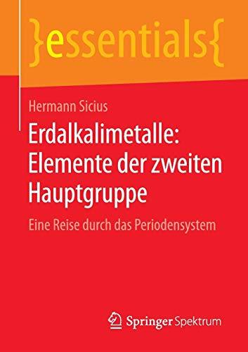 Erdalkalimetalle Lexikon Der Chemie