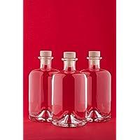6 botellas de vidrio vacías 500 ml APO SPI botellas de zumo de farmacia de 0,5 litro botellas de botellas de aceite de botellas de botellas de licor de vinagre de licor de fábrica de seda