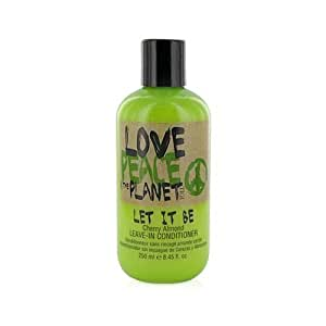 TIGI Love Peace and The Planet Let it Be Leave-In Conditioner Cherry Almond 8.45 Ounce