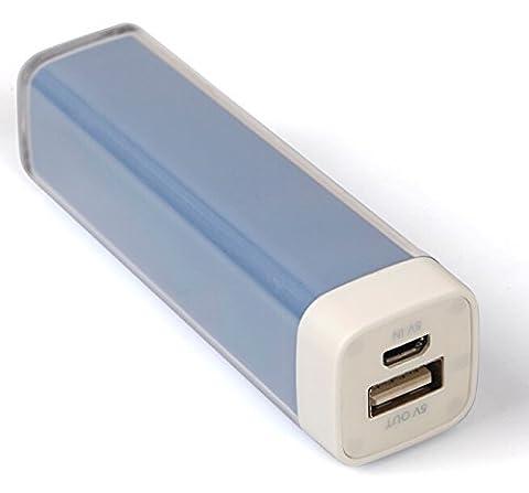 ORIGINAL G&P® - Chargeur de secours - Batterie externe - Power bank Bleu