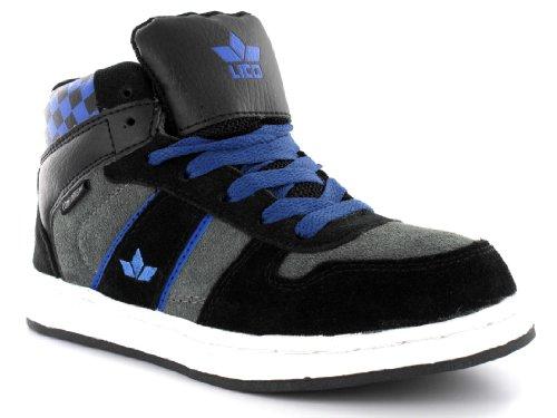 Lico, Sneaker bambini Schwarz (schwarz/blau) 42 - Schwarz (schwarz/blau)